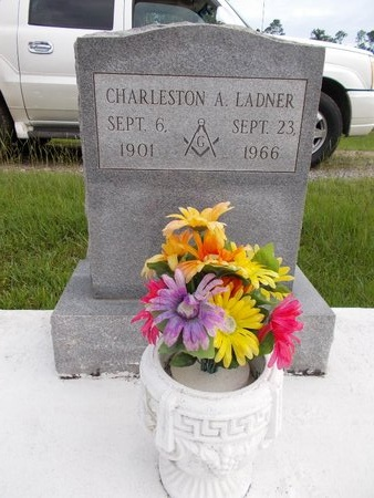 LADNER, CHARLESTON A - Hancock County, Mississippi | CHARLESTON A LADNER - Mississippi Gravestone Photos