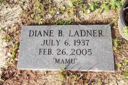 LADNER, DIANE B - Hancock County, Mississippi | DIANE B LADNER - Mississippi Gravestone Photos