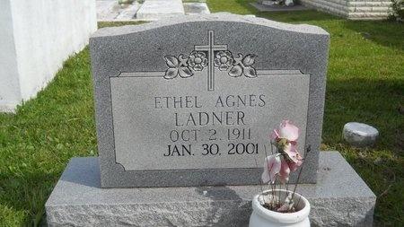 LADNER, ETHEL AGNES - Hancock County, Mississippi   ETHEL AGNES LADNER - Mississippi Gravestone Photos