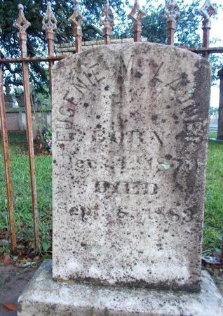 LADNER, EUGENIE MARY - Hancock County, Mississippi | EUGENIE MARY LADNER - Mississippi Gravestone Photos
