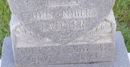 LADNER, JOHN ROBERT, JR (CLOSE UP) - Hancock County, Mississippi | JOHN ROBERT, JR (CLOSE UP) LADNER - Mississippi Gravestone Photos
