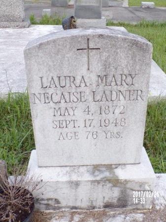 LADNER, LAURA MARY - Hancock County, Mississippi | LAURA MARY LADNER - Mississippi Gravestone Photos