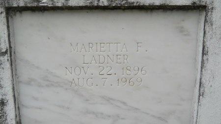 LADNER, MARIETTA - Hancock County, Mississippi | MARIETTA LADNER - Mississippi Gravestone Photos