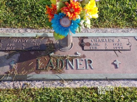 LADNER, CHARLES J - Hancock County, Mississippi | CHARLES J LADNER - Mississippi Gravestone Photos