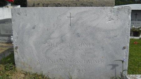 LADNER, WILLIE J - Hancock County, Mississippi | WILLIE J LADNER - Mississippi Gravestone Photos