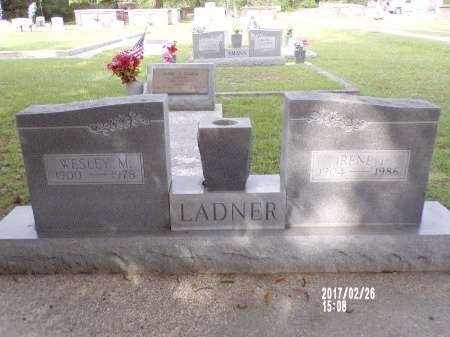 LADNER, IRENE ISABELLE  - Hancock County, Mississippi | IRENE ISABELLE  LADNER - Mississippi Gravestone Photos
