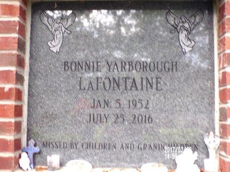 LAFONTAINE, BONNIE - Hancock County, Mississippi   BONNIE LAFONTAINE - Mississippi Gravestone Photos