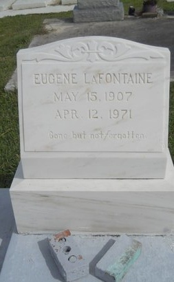 LAFONTAINE, EUGENE - Hancock County, Mississippi | EUGENE LAFONTAINE - Mississippi Gravestone Photos