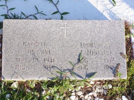 LAFONTAINE, LINDA JEAN - Hancock County, Mississippi | LINDA JEAN LAFONTAINE - Mississippi Gravestone Photos