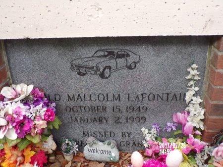 LAFONTAINE, HAROLD MALCOLM - Hancock County, Mississippi | HAROLD MALCOLM LAFONTAINE - Mississippi Gravestone Photos