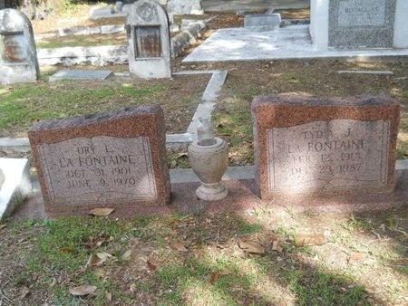 LAFONTAINE, LYDIA J - Hancock County, Mississippi   LYDIA J LAFONTAINE - Mississippi Gravestone Photos