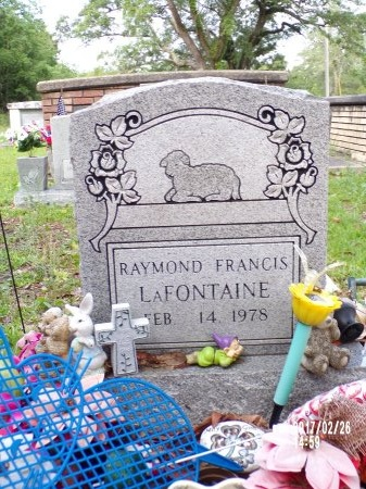 LAFONTAINE, RAYMOND FRANCIS - Hancock County, Mississippi | RAYMOND FRANCIS LAFONTAINE - Mississippi Gravestone Photos