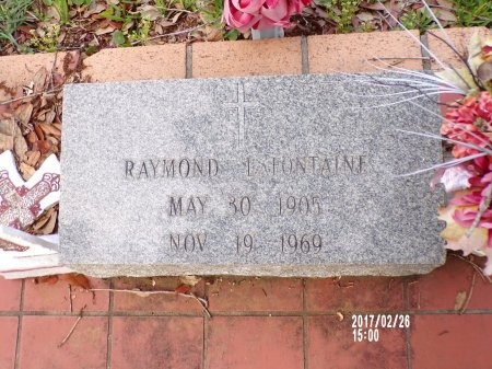 LAFONTAINE, RAYMOND - Hancock County, Mississippi | RAYMOND LAFONTAINE - Mississippi Gravestone Photos