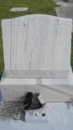 LAFONTAINE, VIOLA L - Hancock County, Mississippi | VIOLA L LAFONTAINE - Mississippi Gravestone Photos
