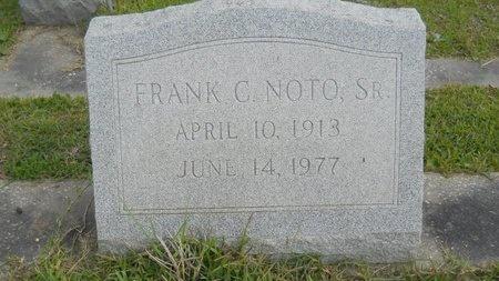 NOTO, FRANK C, SR - Hancock County, Mississippi | FRANK C, SR NOTO - Mississippi Gravestone Photos