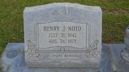 NOTO, HENRY J - Hancock County, Mississippi | HENRY J NOTO - Mississippi Gravestone Photos