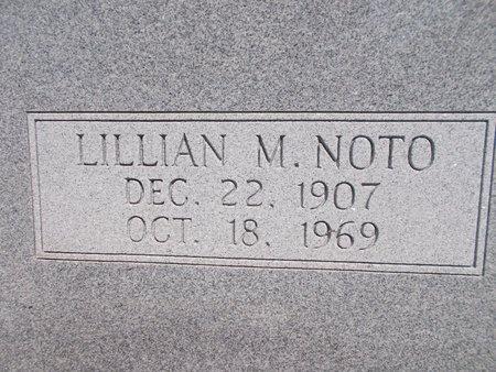 NOTO, LILLIAN M - Hancock County, Mississippi | LILLIAN M NOTO - Mississippi Gravestone Photos