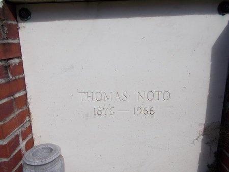 NOTO, THOMAS GAETANO, SR - Hancock County, Mississippi   THOMAS GAETANO, SR NOTO - Mississippi Gravestone Photos
