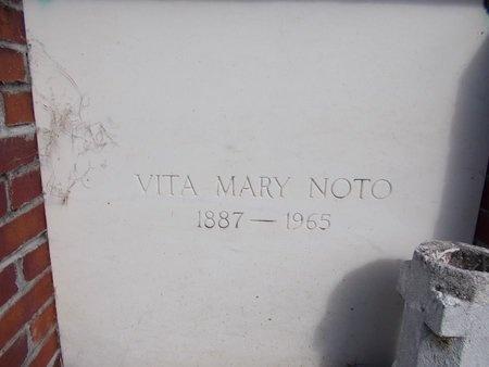 NOTO, VITA MARY - Hancock County, Mississippi | VITA MARY NOTO - Mississippi Gravestone Photos
