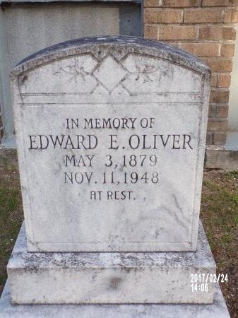 OLIVER, EDWARD E - Hancock County, Mississippi | EDWARD E OLIVER - Mississippi Gravestone Photos