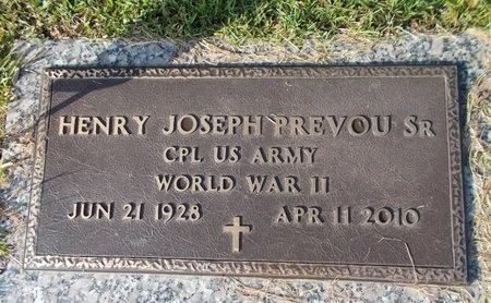 PREVOU (VETERAN WWII), HENRY JOSEPH, SR (NEW) - Hancock County, Mississippi | HENRY JOSEPH, SR (NEW) PREVOU (VETERAN WWII) - Mississippi Gravestone Photos