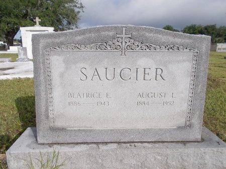 SAUCIER, BEATRICE - Hancock County, Mississippi | BEATRICE SAUCIER - Mississippi Gravestone Photos