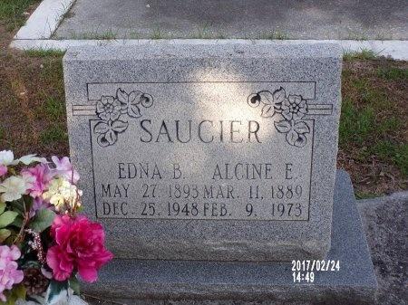 SAUCIER, EDNA - Hancock County, Mississippi | EDNA SAUCIER - Mississippi Gravestone Photos