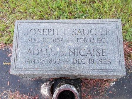 SAUCIER, JOSEPH E - Hancock County, Mississippi | JOSEPH E SAUCIER - Mississippi Gravestone Photos