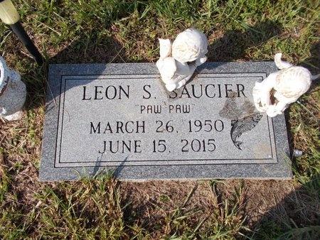 SAUCIER, LEON S - Hancock County, Mississippi   LEON S SAUCIER - Mississippi Gravestone Photos