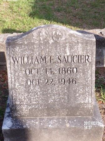 SAUCIER, WILLIAM E - Hancock County, Mississippi | WILLIAM E SAUCIER - Mississippi Gravestone Photos