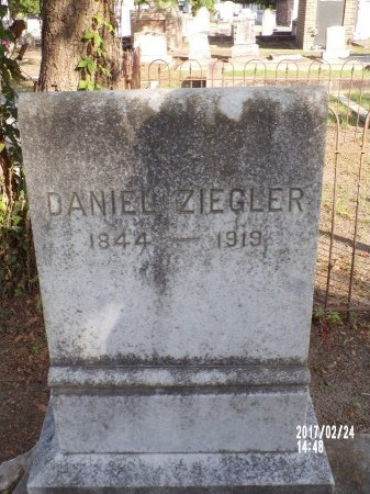ZIEGLER, DANIEL - Hancock County, Mississippi | DANIEL ZIEGLER - Mississippi Gravestone Photos