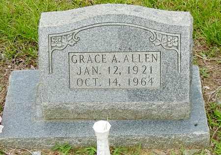 ALLEN, GRACE A - Jefferson Davis County, Mississippi | GRACE A ALLEN - Mississippi Gravestone Photos