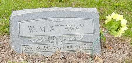 ATTAWAY, W M - Jefferson Davis County, Mississippi   W M ATTAWAY - Mississippi Gravestone Photos
