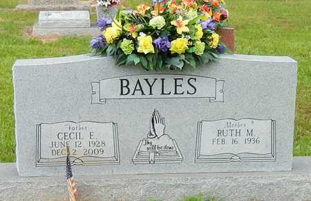 BAYLES, CECIL ERMAN - Jefferson Davis County, Mississippi | CECIL ERMAN BAYLES - Mississippi Gravestone Photos
