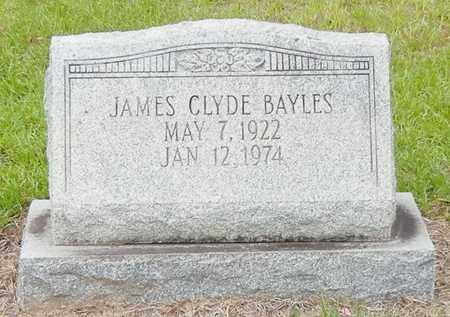 BAYLES, JAMES CLYDE - Jefferson Davis County, Mississippi | JAMES CLYDE BAYLES - Mississippi Gravestone Photos