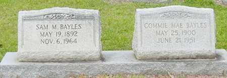 BAYLES, SAM M SR - Jefferson Davis County, Mississippi | SAM M SR BAYLES - Mississippi Gravestone Photos