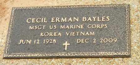 BAYLES (VETERAN 2WARS), CECIL ERMAN - Jefferson Davis County, Mississippi | CECIL ERMAN BAYLES (VETERAN 2WARS) - Mississippi Gravestone Photos