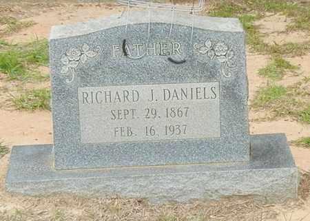 DANIELS, RICHARD J - Jefferson Davis County, Mississippi | RICHARD J DANIELS - Mississippi Gravestone Photos
