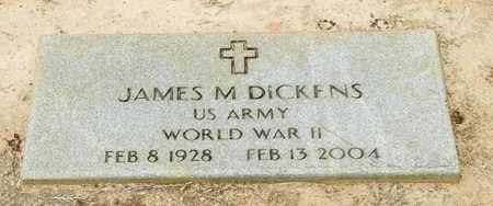 DICKENS (VETERAN WWII), JAMES M - Jefferson Davis County, Mississippi | JAMES M DICKENS (VETERAN WWII) - Mississippi Gravestone Photos