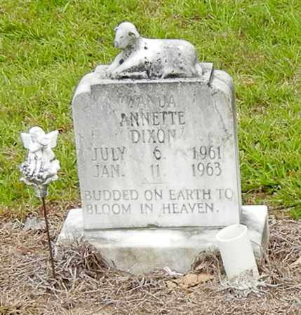 DIXON, WANDA ANNETTE - Jefferson Davis County, Mississippi | WANDA ANNETTE DIXON - Mississippi Gravestone Photos