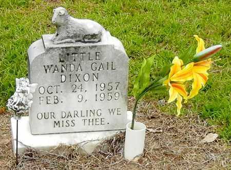 DIXON, WANDA GAIL - Jefferson Davis County, Mississippi | WANDA GAIL DIXON - Mississippi Gravestone Photos
