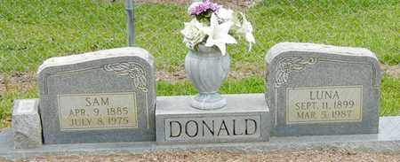 YATES DONALD, LUNA - Jefferson Davis County, Mississippi | LUNA YATES DONALD - Mississippi Gravestone Photos