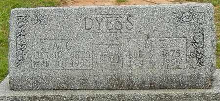DYESS, MARTHA ESTHER - Jefferson Davis County, Mississippi   MARTHA ESTHER DYESS - Mississippi Gravestone Photos
