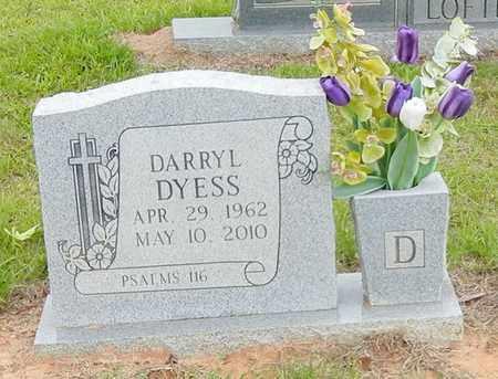 DYESS, DARRYL - Jefferson Davis County, Mississippi | DARRYL DYESS - Mississippi Gravestone Photos