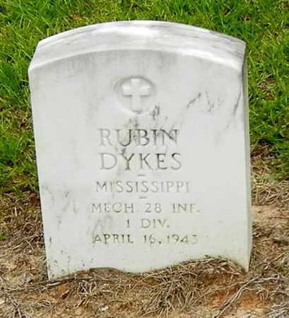 DYKES (VETERAN) (CORRECTION), RUBIN - Jefferson Davis County, Mississippi   RUBIN DYKES (VETERAN) (CORRECTION) - Mississippi Gravestone Photos