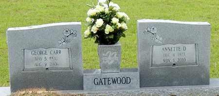 GATEWOOD, GEORGE CARR - Jefferson Davis County, Mississippi | GEORGE CARR GATEWOOD - Mississippi Gravestone Photos