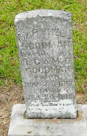 GOODMAN, MARY NELL - Jefferson Davis County, Mississippi | MARY NELL GOODMAN - Mississippi Gravestone Photos