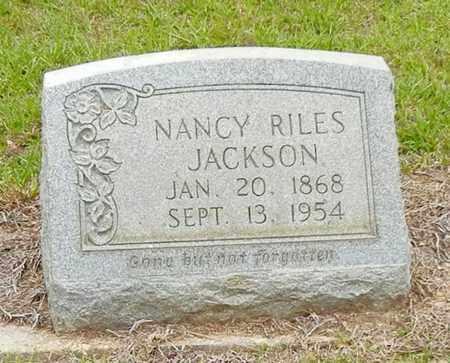 RILES JACKSON, NANCY - Jefferson Davis County, Mississippi | NANCY RILES JACKSON - Mississippi Gravestone Photos