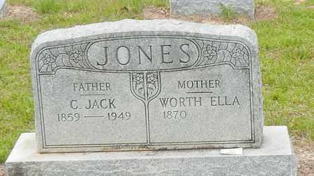 BLACKMON JONES, WORTH ELLA - Jefferson Davis County, Mississippi   WORTH ELLA BLACKMON JONES - Mississippi Gravestone Photos