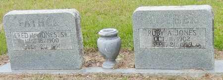JONES, RUBY A - Jefferson Davis County, Mississippi | RUBY A JONES - Mississippi Gravestone Photos